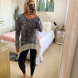 Tunic top and leggings set